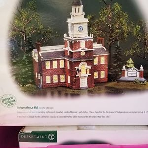 Dept 56 Corp Collectible Independence Hall